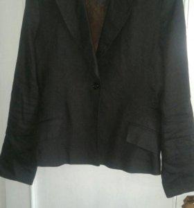 Льняной новый пиджак