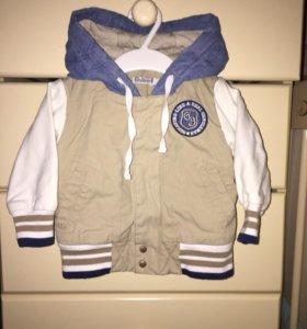 Куртка-бомбер для мальчика р.74