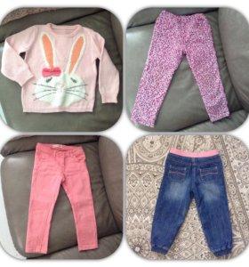 Фирменная одежда на осень mothercare