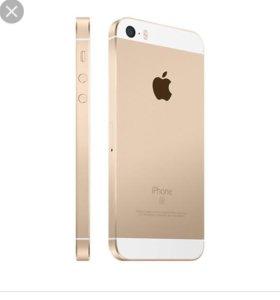 iphone 5se золотого цвета
