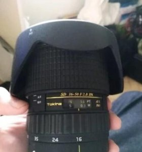 Tokina SD 16-50 F 2.8 DX
