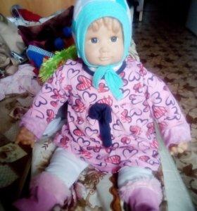 Кукла(как ребенок)