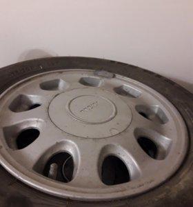 Литые диски с резиной