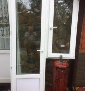 Пластиковое окно, балконная дверь