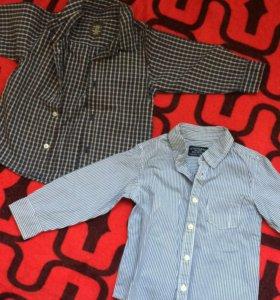 Рубашки на 2 года