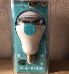 Лампа LED с музыкой