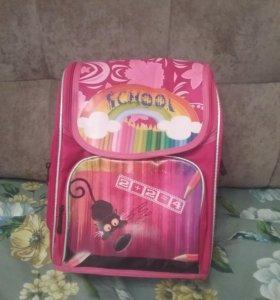 Рюкзак школьный, ортопедический для девочки