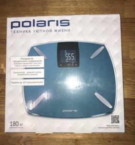 Весы напольные электронные Polaris PWS 1850DGF