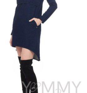 Продам платье-тунику (джинс)