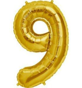 Надувная цифра 9