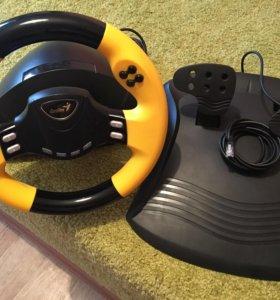 Игровой руль Genius speed wheel rv