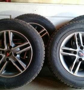 Комплект зимних колёс