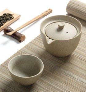 Чайный набор Гайвань и пиала. Керамика