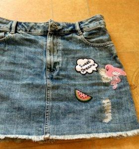 Новая джинсовая юбка Ostin XS - S