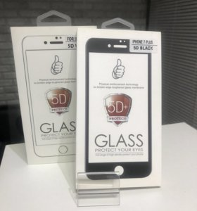 5D защитные стекла для Apple iPhone