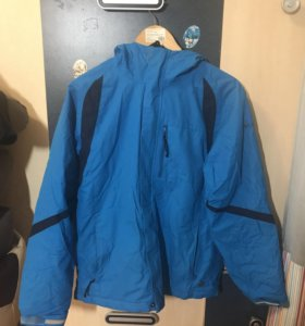 Синяя зимняя куртка Columbia