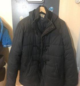 Зимняя темно-синяя куртка Cropp