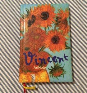 блокнот artnote Ван Гог