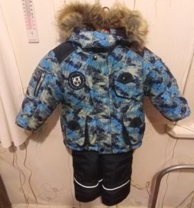 Куртка с полукомбинезоном зимняя.