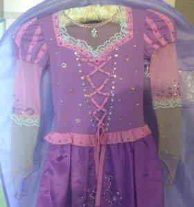 Платье «Рапунцель» для фигурного катания