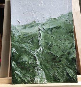 Картина холст масло 30х40