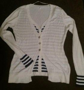 Очень стильный легкий свитерок