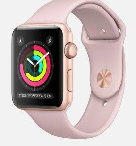 Apple Watch 3 42mm gold