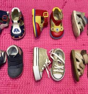 Обувь на девочку 12 см по стельке