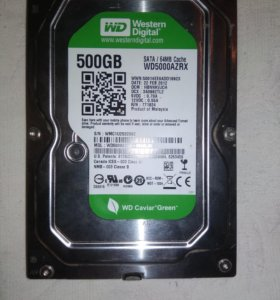 Жесткий диск на 500гб