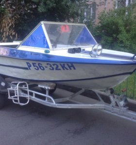 Лодка Крым+ мотор Тохатсу 40+прицеп МЗСА