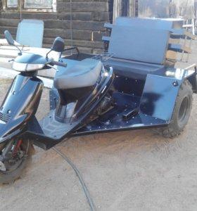 Продам вездеход на базе скутера suzuki address 100