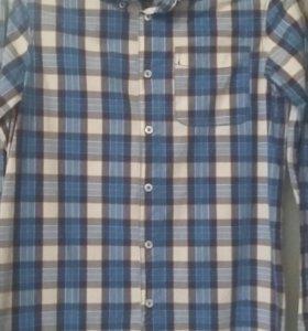 Новая рубашка фирмы Беннитон на рост 146/152