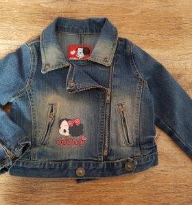 Новая джинсовая куртка (Корея)