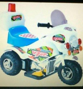 Электро мотоцикл детский