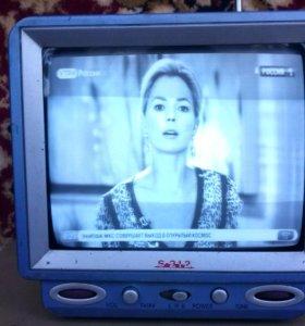 Малогабаритный телевизор.диагональ 20 см