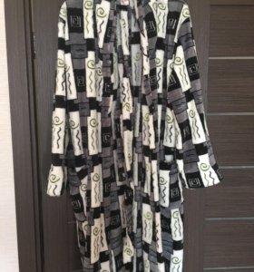 Флисовый мужской халат