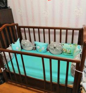 Кровать детская, все как на фото