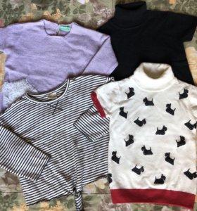 Фирменные свитеры 98-104 пакетом