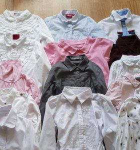 Блузки для школы рост 134-140