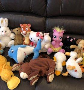 Говорящая лошадь my little pony и все игрушки 450р