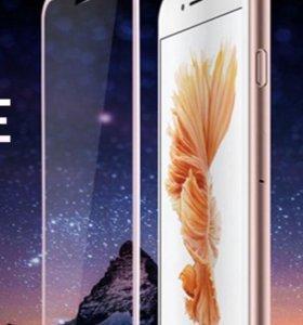 Защитное стекло iPhone7+, iPhone8+