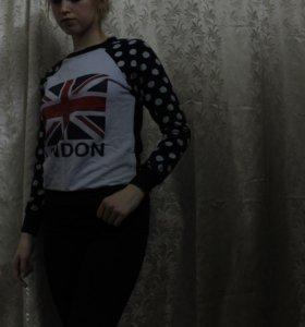 Кофта с принтом London