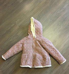 Пальто на девочку Next