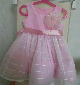 Платье доя девочки из органзы