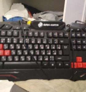 GAN-KATA игровая клавиатура