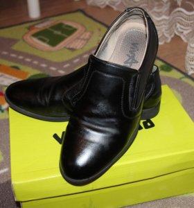 Туфли для мальчика р-р 35
