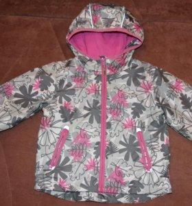 Куртка-ветровка для девочки Barkito, рост 80