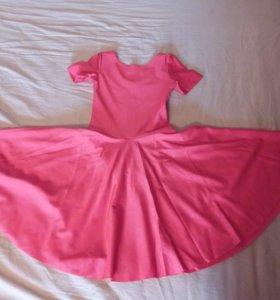 Платье из бифлекс новое для бальных танцев