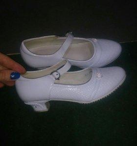 Туфельки для девочки 34р
