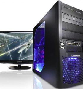 Мощный игровой компьютер AMD. 4 ядра. 8 гб памяти